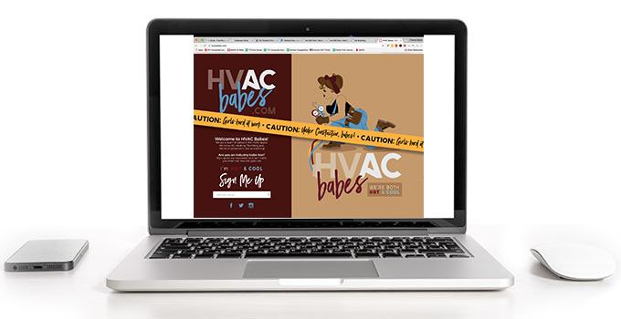 HVACbabes Branding